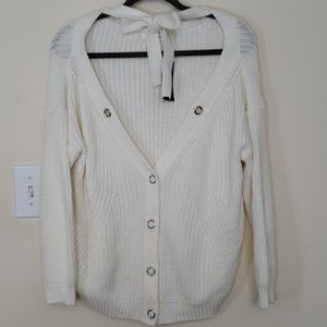 Simply Be White Knit Sweater- NWT